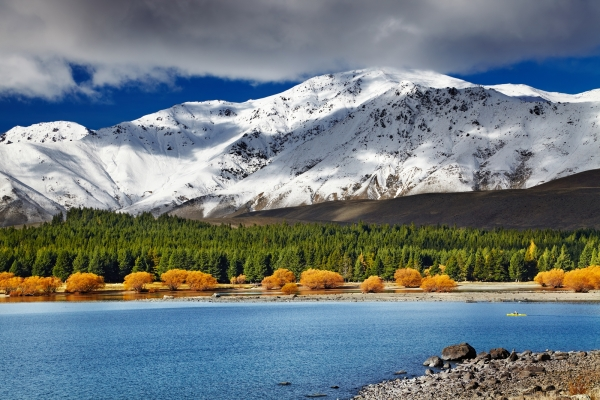 NUOVA ZELANDA: LA GRANDE NUVOLA BIANCA
